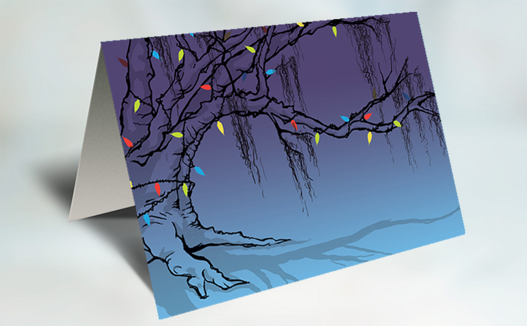 10 pack | Holiday Tree of Life Cards