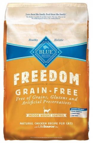 Blue Buffalo BLUE Freedom Grain Free Indoor Weight Control Dry Cat Food