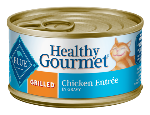Blue Buffalo BLUE Healthy Gourmet Grilled Chicken Entree Canned Cat Food