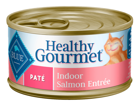 Blue Buffalo BLUE Healthy Gourmet Adult Indoor Salmon Entree Canned Cat Food