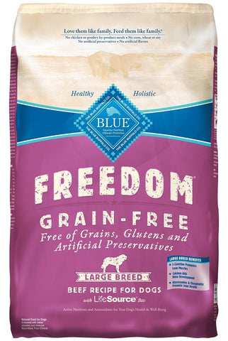 Blue Buffalo BLUE Freedom Large Breed Adult Beef Recipe Dry Dog Food