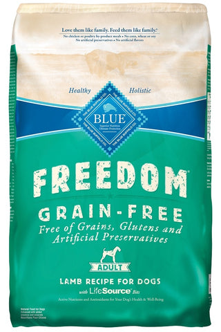 Blue Buffalo BLUE Freedom Adult Lamb Recipe Dry Dog Food
