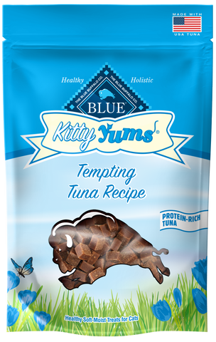 Blue Buffalo BLUE Kitty Yums Tempting Tuna Natural Soft Moist Cat Treats