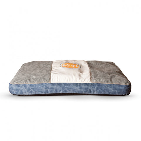 K&H Pet Products Vintage Classic Brown & Blue Genuine Logo Pet Bed