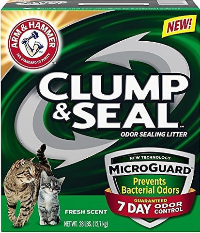 Arm & Hammer Fresh Scent Clump and Seal MicroGuard Cat Litter