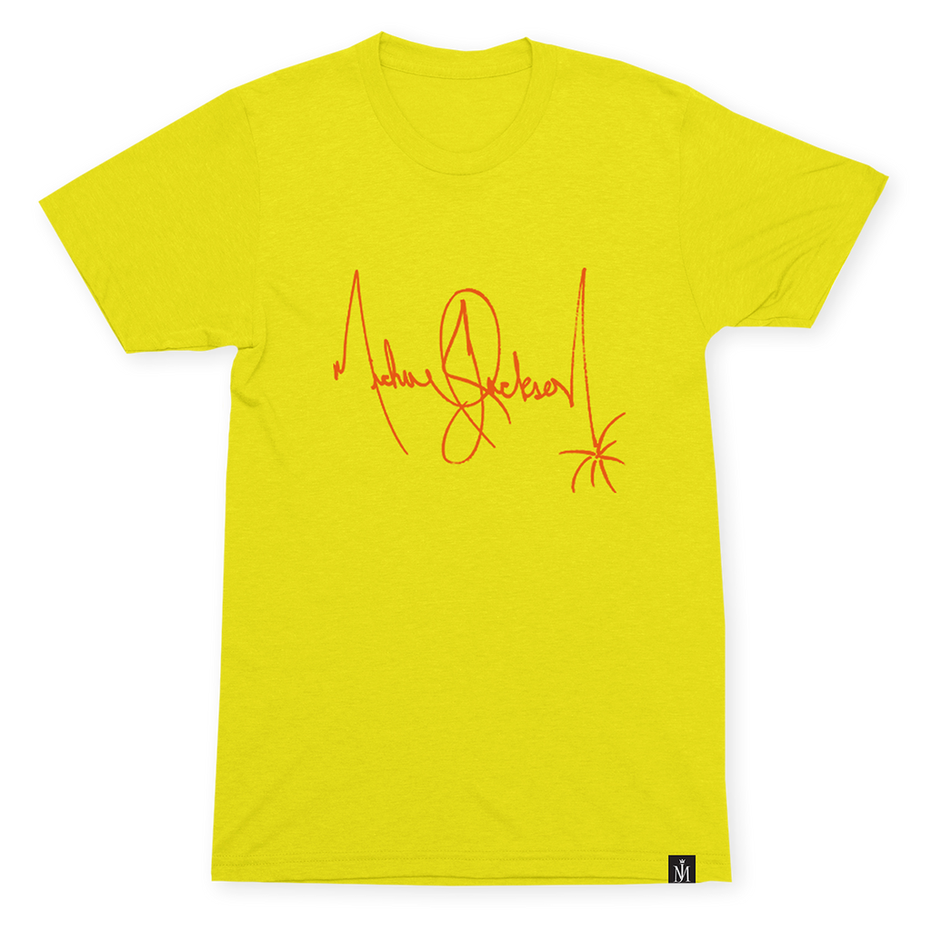 SIGNATURE YELLOW T-SHIRT