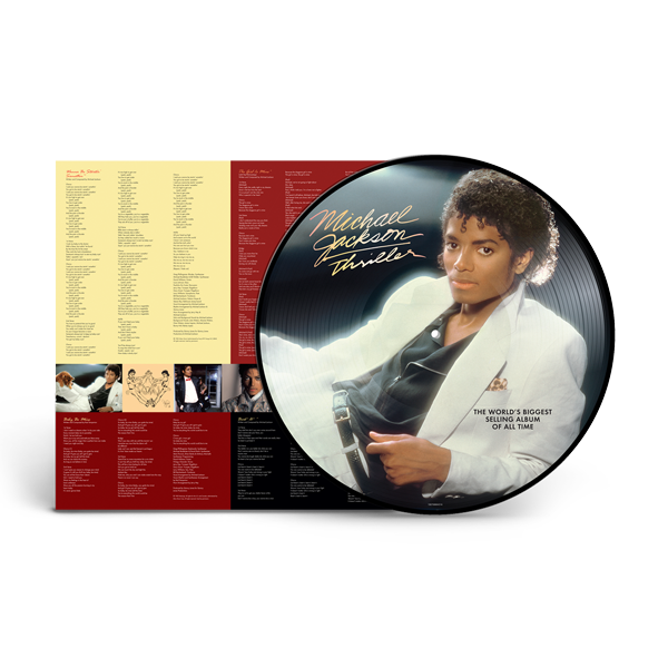 THRILLER PICTURE DISC - LP