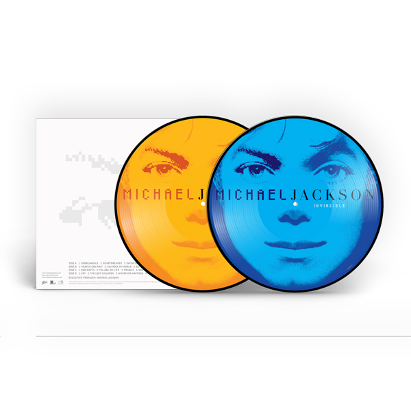 INVINCIBLE PICTURE DISC - 2LP