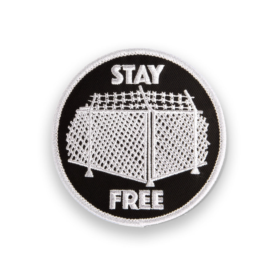 Stay Free Patch - Tough Times