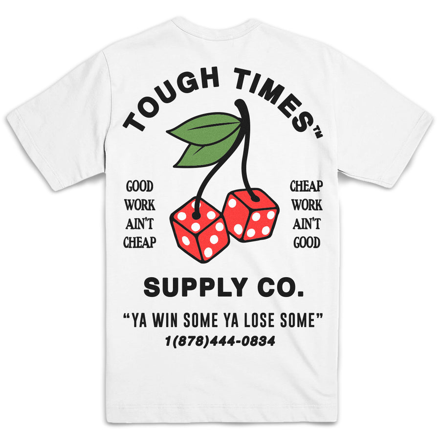 Cherry Dice T-Shirt [White]