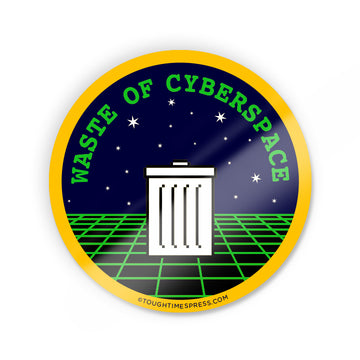 Cyberspace Sticker