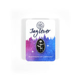 Jag Lever Celestial Rose Pin