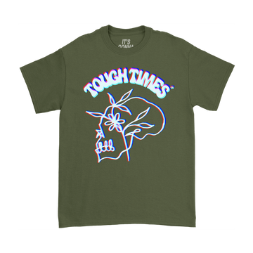 Flower Skull T-Shirt - Tough Times