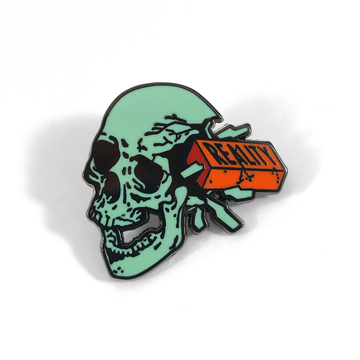 Reality Brick Pin - Tough Times