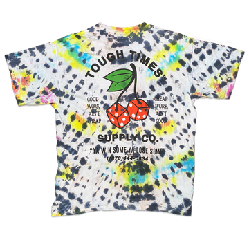 Tie Dye Cherry Dice T-Shirt 5