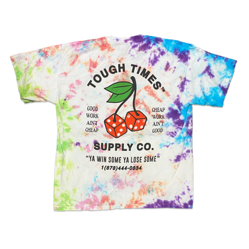 Tie Dye Cherry Dice T-Shirt 6