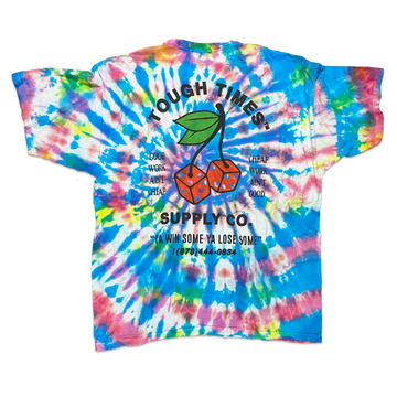 Tie Dye Cherry Dice T-Shirt 7