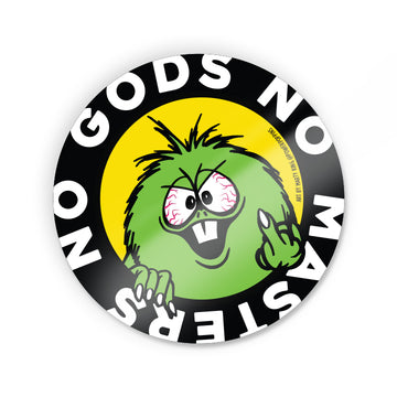No Gods No Masters Sticker