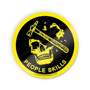 People Skills Sticker