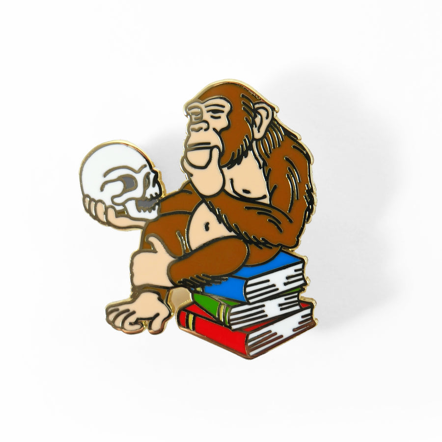 Monkey Brains Pin