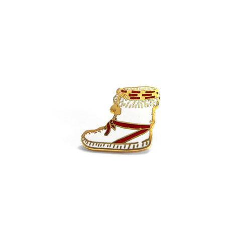 Vintage Gold Moccasin Bootie Pin