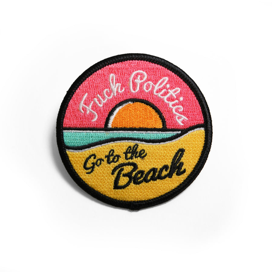 Go To The Beach Patch - Tough Times
