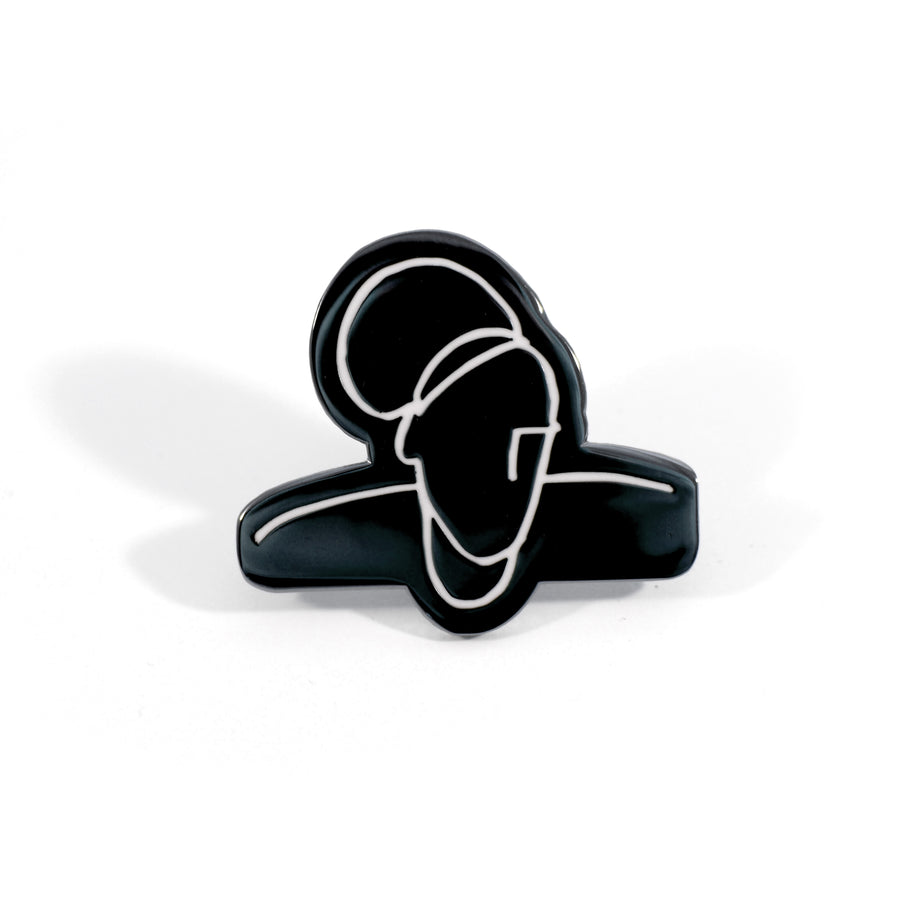 Gypsy Sphinx Pin Black