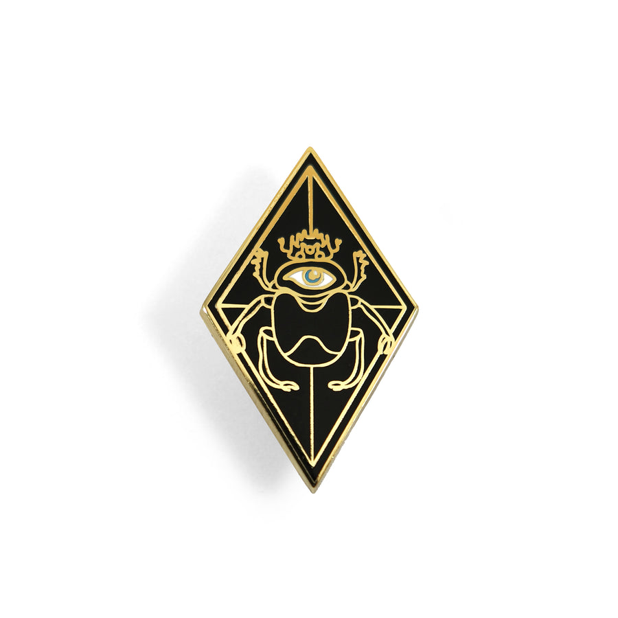 Three Kings Scarab Pin - Tough Times