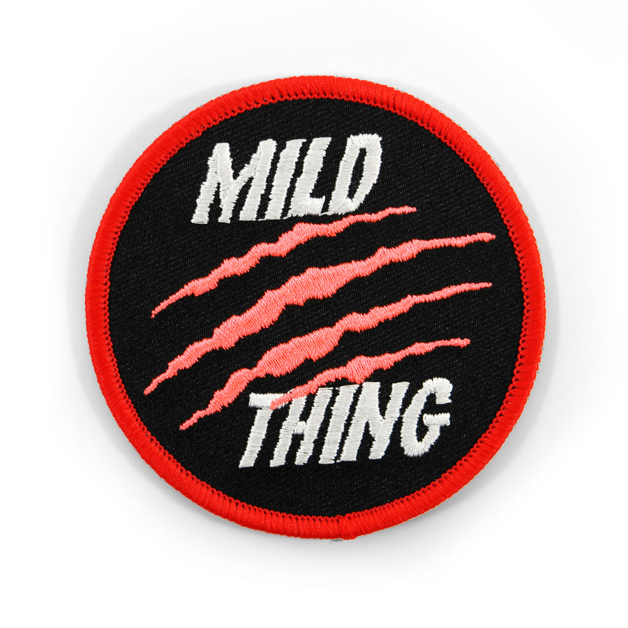 Mild Thing Patch - Tough Times