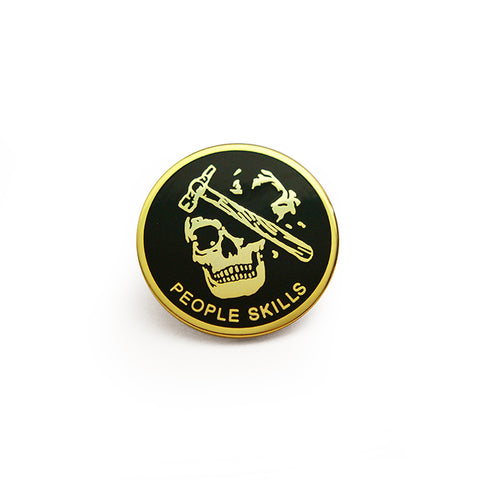 People Skills Pin