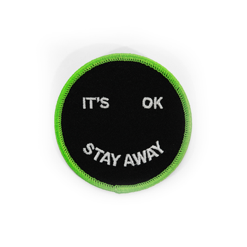 Stay Away Patch