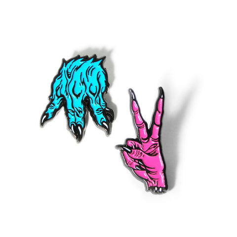 MNSTR Hands Pin Set