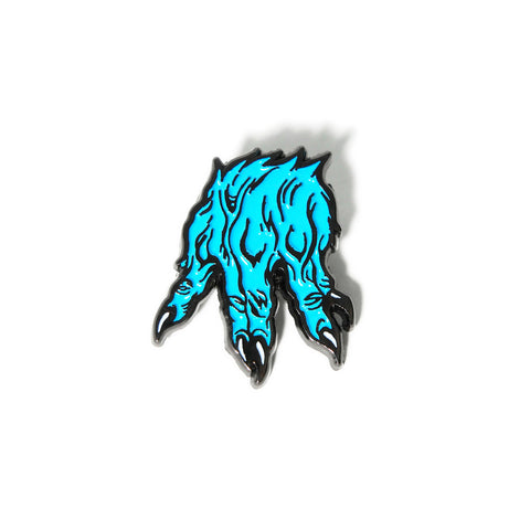 MNSTR Blue Hand Pin