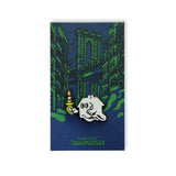 Ghost House (Green) Pin