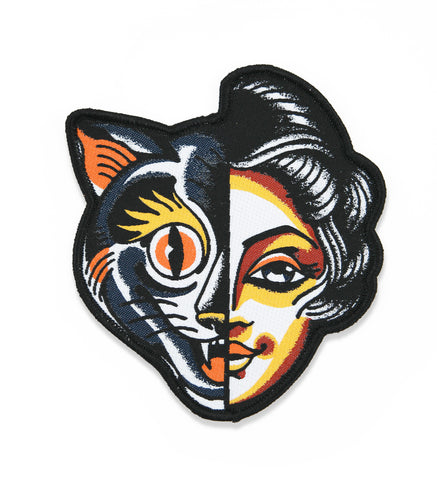 Cat/Woman Patch