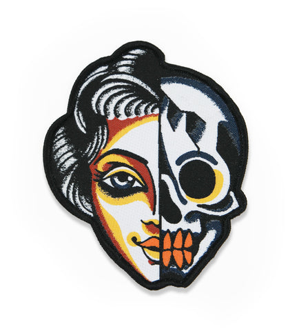 Skull/Woman Patch
