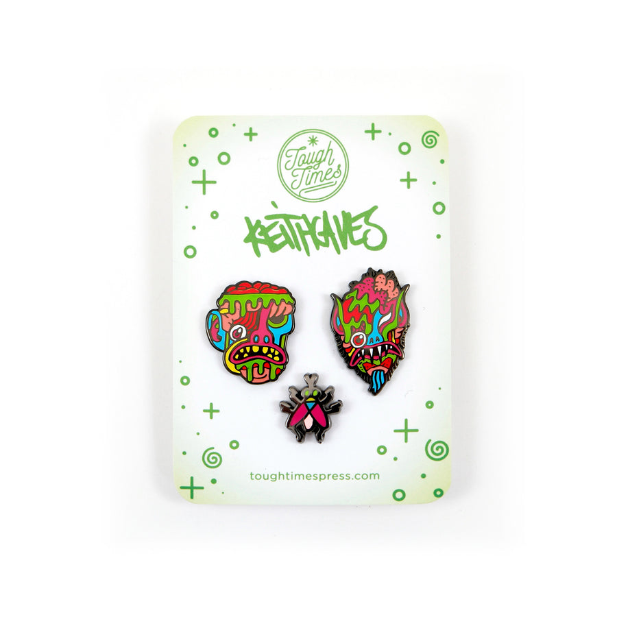 Caves Goblins Pin Set