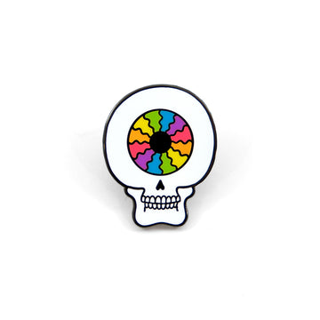 O.Hibert Skull Pin - Tough Times