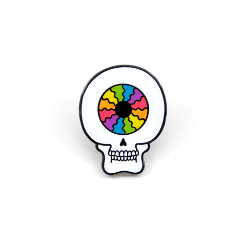O.Hibert Skull Pin