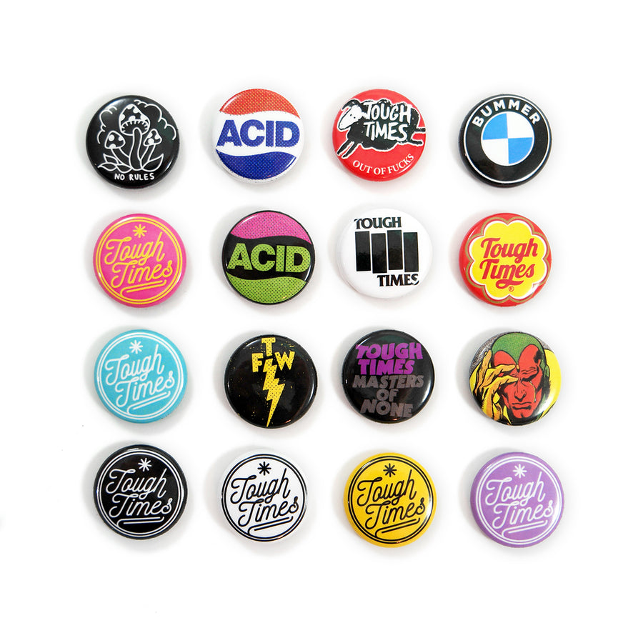 TTP Button Pack V1 - Tough Times