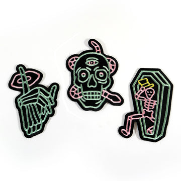 Zzizziland Neon Patch Set