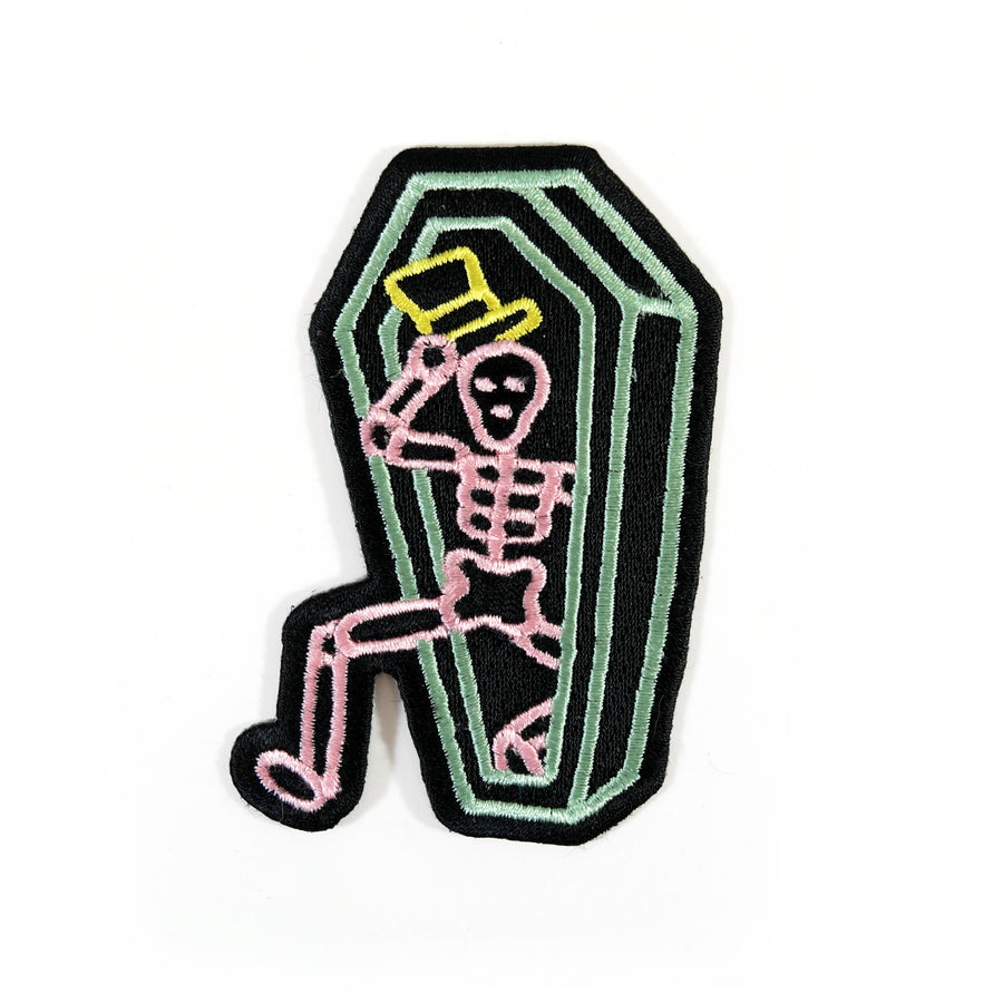 Neon Coffin Patch