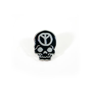 No Peace Silver Pin
