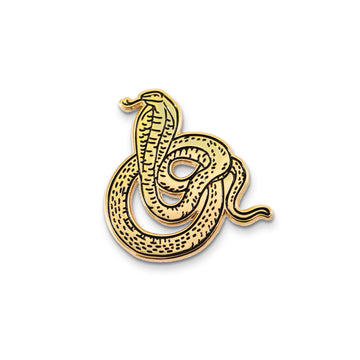 Gold Cobra Pin