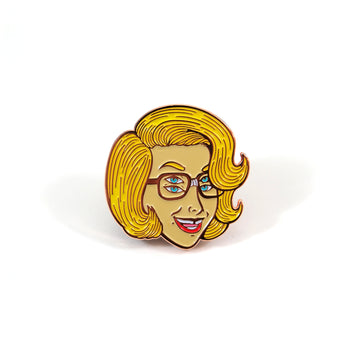 6-Eyed Girl Pin
