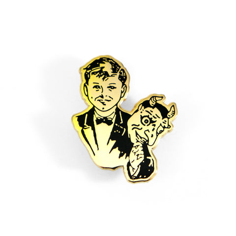Mask Off Pin