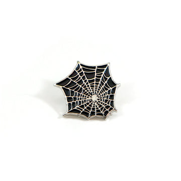 Black Web Pin - Tough Times