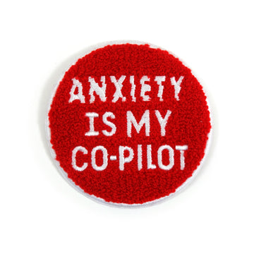 Anxiety Chenille Patch