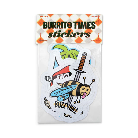 Burrito Times Sticker Pack