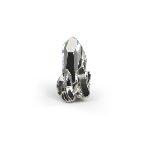 Jag Lever Crystallized 3D Pin